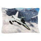 Fighter jet Pillow Cases