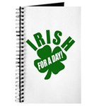 Irish For A Day! St Patty's Day Journal