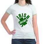 Irish For A Day! St Patty's Day Jr. Ringer T-Shirt