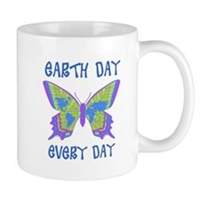 Earth Day Every Day Butterfly Mug