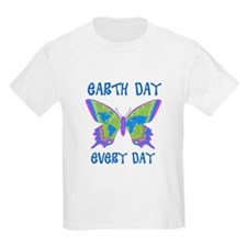Earth Day Every Day Butterfly T-Shirt