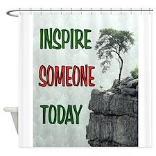 INSPIRATION Shower Curtain