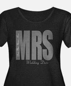 Wedding Mrs Plus Size T-Shirt