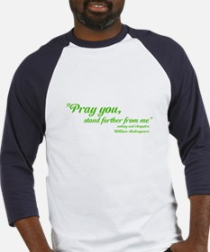 PRAY YOU STAND FARTHER Baseball Jersey