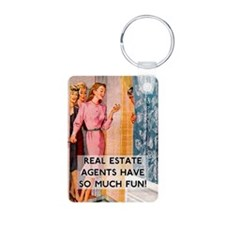 Real Estate Agents Keychains