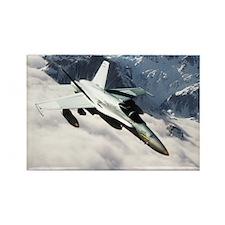 F-18 Hornet Rectangle Magnet