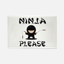 Ninja Please Magnets