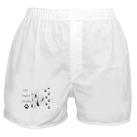 Sheepdog prints Boxer Shorts