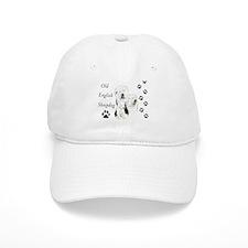 Sheepdog prints Baseball Cap