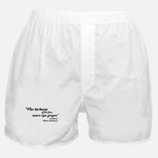 THE TARTNESS OF HIS FACE Boxer Shorts