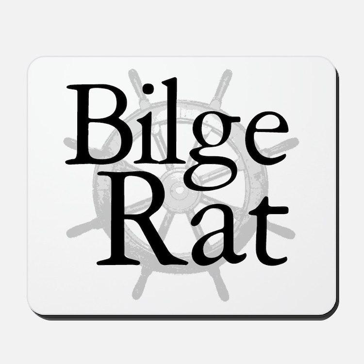Bilge Rat Pirate Caribbean Mousepad