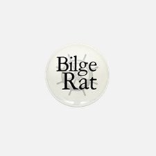 Bilge Rat Pirate Caribbean Mini Button (10 pack)