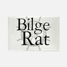 Bilge Rat Pirate Caribbean Rectangle Magnet