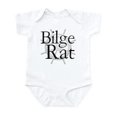 Bilge Rat Pirate Caribbean Infant Bodysuit