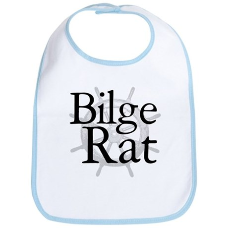 Bilge Rat Pirate Caribbean Bib