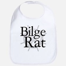 Bilge Rat Pirate Caribbean Bib