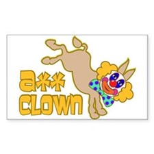 Ass Clown Decal
