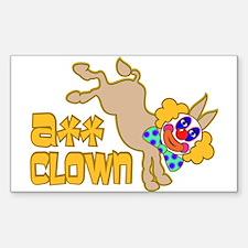 Ass Clown Decal