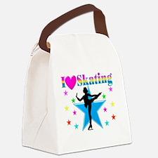 SKATING PRINCESS Canvas Lunch Bag