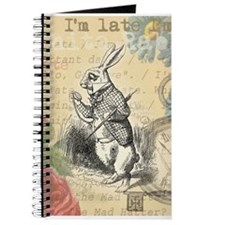 White Rabbit from Alice in Wonderland Journal