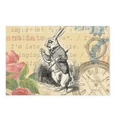 White Rabbit from Alice in Wonderland Postcards (P