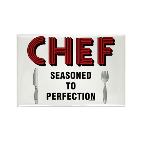 Chef Rectangle Magnet (10 pack)