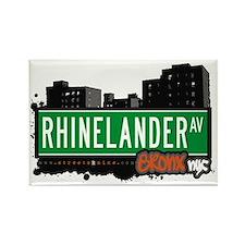 Rhinelander Av, Bronx, NYC Rectangle Magnet