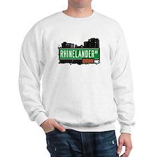 Rhinelander Av, Bronx, NYC  Sweatshirt