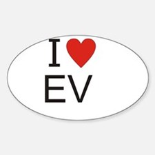 Cute Ev Decal