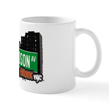 Richardson Av, Bronx, NYC Mug