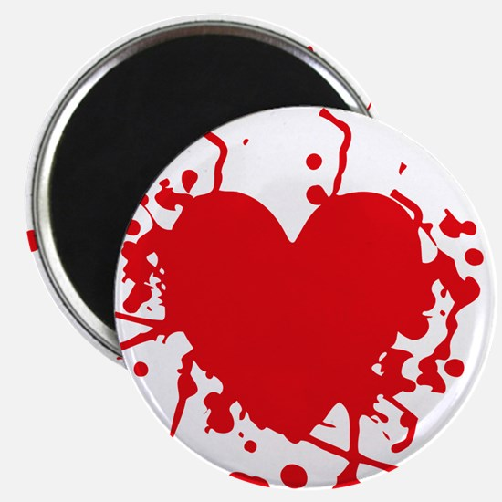 Bloody Heart Magnets