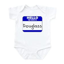 hello my name is douglass  Infant Bodysuit