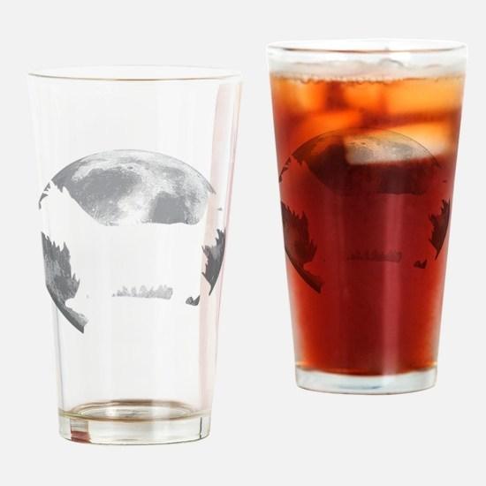 Cute Chorkie Drinking Glass