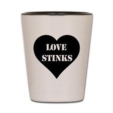 Love Stinks Shot Glass