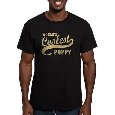World's Coolest Poppy Men's Fitted T-Shirt (dark)