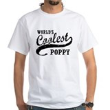 Poppy Mens White T-shirts