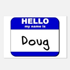 hello my name is doug  Postcards (Package of 8)
