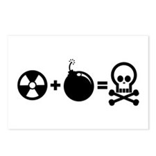 Nuclear Plus Bombs Postcards (Package of 8)