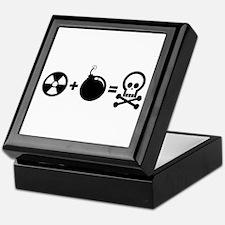 Nuclear Plus Bombs Keepsake Box
