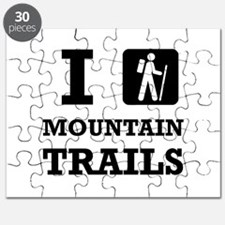 Hike Mountain Trails Puzzle