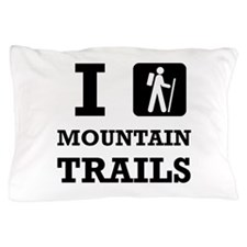 Hike Mountain Trails Pillow Case