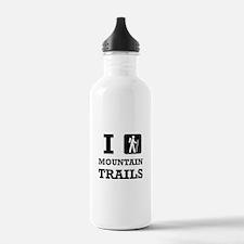 Hike Mountain Trails Water Bottle