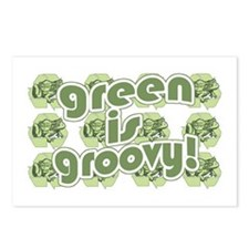 Green is Groovy frog Postcards (Package of 8)