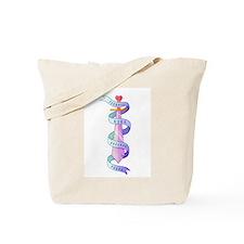 Teenage Girl Defense Squad Tote Bag