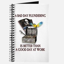 Pirate Plundering Ship Journal