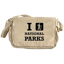 Hike National Parks Messenger Bag
