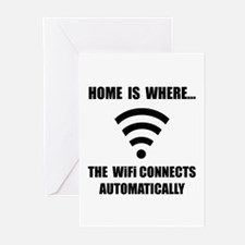 Home WiFi Greeting Cards