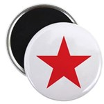 The Red Star Magnet