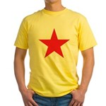 The Red Star Yellow T-Shirt
