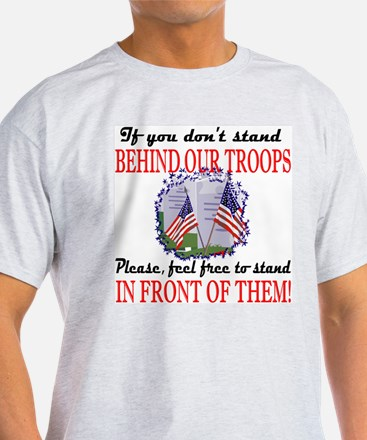 Behind Our Troops T-Shirt